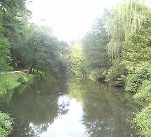 Williamsburg River by vcobb