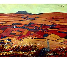 Slemish Mountain, Antrim Photographic Print