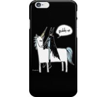 Paul Friedrich Batman on a Unicorn iPhone Case/Skin