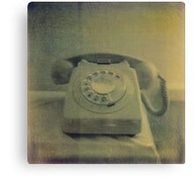 Mum's Telephone Canvas Print