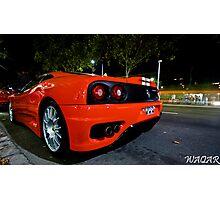 Ferrari 360 Challenge Stradle Photographic Print