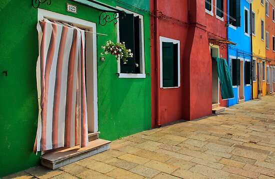 Burano Row by Inge Johnsson