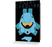 Red Versus Blue | Project Freelancer: Carolina Greeting Card