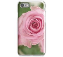 Pink faded roses iPhone Case/Skin