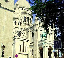La Sacre Coeur!! by Rusty  Gladdish