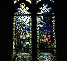 Memorial Window  by Dave Godden