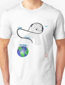Cry Plays the World T-Shirt