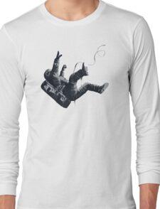 Death By Blackhole - Freefall Astronaut Long Sleeve T-Shirt