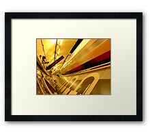 London Underground Color World Framed Print