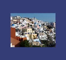 Beautiful Houses of Santorini Unisex T-Shirt