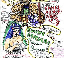 Kount Kracula's Review Showcase -TV Show Promo Poster #2 by TexWatt