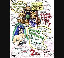 Kount Kracula's Review Showcase -TV Show Promo Poster #2 Unisex T-Shirt