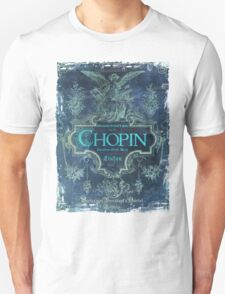 Frederick Chopin Blue Unisex T-Shirt