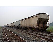 Rail Cars Photographic Print