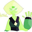 Peridot Says Hello by debsdesigns