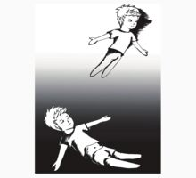 I Dreamt I Was Flying, In Reality I Was Falling Kids Tee