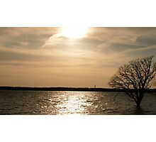 Sunset After A Flood Photographic Print