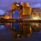 Guggenheim Bilbao Reflections - Basque Country of Spain by DavidGutierrez