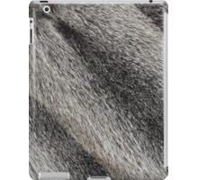 River rat coypu or nutria rough fur background iPad Case/Skin