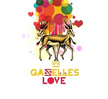 Gazelles Love by AnastasiaNensy