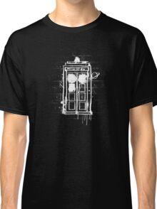 Time Lord Graffiti Classic T-Shirt