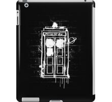 Time Lord Graffiti iPad Case/Skin