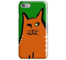 Sly Cat iPhone Case/Skin