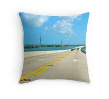 Overeas Highway Throw Pillow