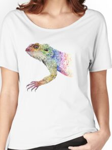bearded dragon rainbow Mix Women's Relaxed Fit T-Shirt