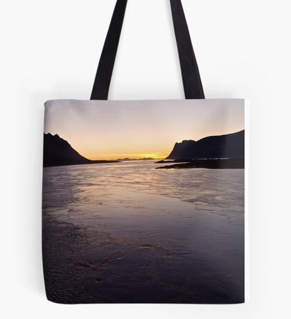 #######   ....Deep in my heart forever  !   ######   Lofots by night.    My Norway. by Brown Sugar . Views (240) Thanks so much !!! Tote Bag