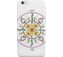 Sunflower Mandala iPhone Case/Skin