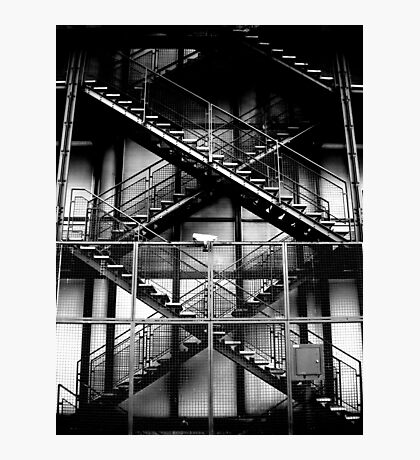 Fire Escape Photographic Print