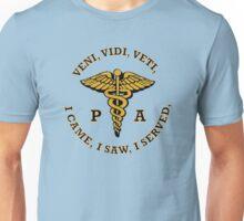 Physician Assistant Caduceus Shield Unisex T-Shirt
