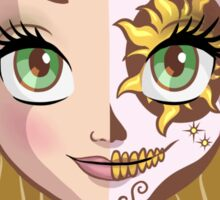Sugar Skull Series: Rapunzel Sticker