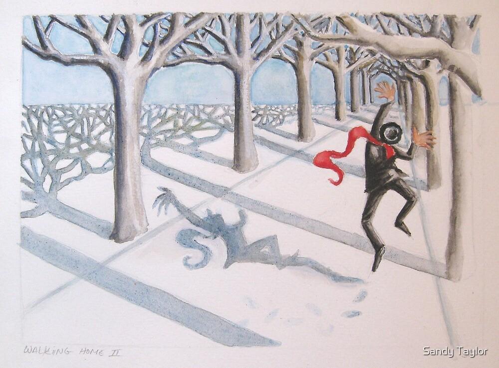 Walking Home II by Sandy Taylor