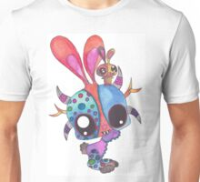 Bunny in Puerto Rico Mask Festival Unisex T-Shirt