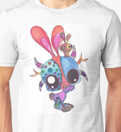 Bunny in Puerto Rico Mask Festival Unisex T-Shirt