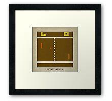 8-bit Life Cycle Framed Print