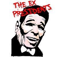 The Ex Presidents  Photographic Print