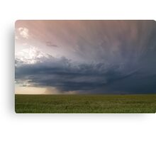 Between the Tornadoes Canvas Print