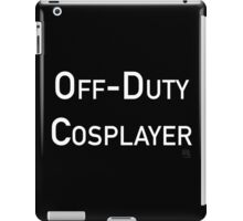 Off-Duty Cosplayer iPad Case/Skin