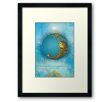 Life itself is... Framed Print