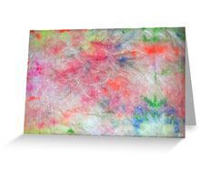 Fluorescent Colour #1 Greeting Card