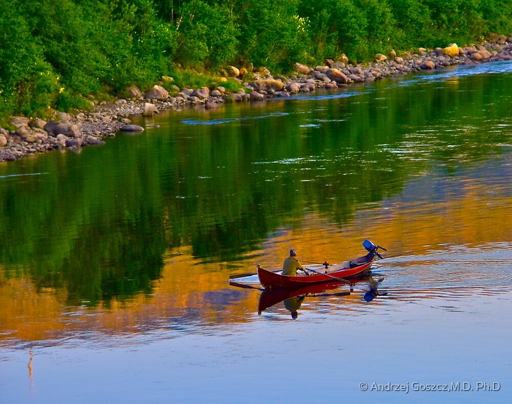 The Queen of Salmon Rivers - Namsen - Norway. by Brown Sugar . Views (446) . Favs (4) Waaaaws !!! Thank you friends !!! by © Andrzej Goszcz,M.D. Ph.D