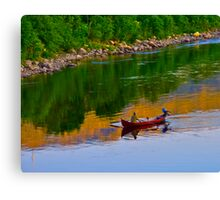 The Queen of Salmon Rivers - Namsen - Norway. by Brown Sugar . Views (446) . Favs (4) Waaaaws !!! Thank you friends !!! Canvas Print
