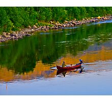 The Queen of Salmon Rivers - Namsen - Norway. by Brown Sugar . Views (446) . Favs (4) Waaaaws !!! Thank you friends !!! Photographic Print