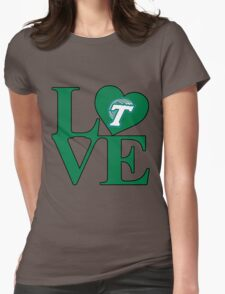 Love Tulane  Womens Fitted T-Shirt