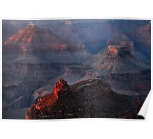 Grand Canyon Alpenglow Poster