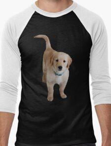 Cute Lil Puppy Men's Baseball ¾ T-Shirt