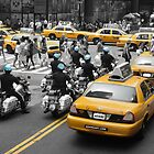 6 in Blue - New York 2010 by Adam Adami